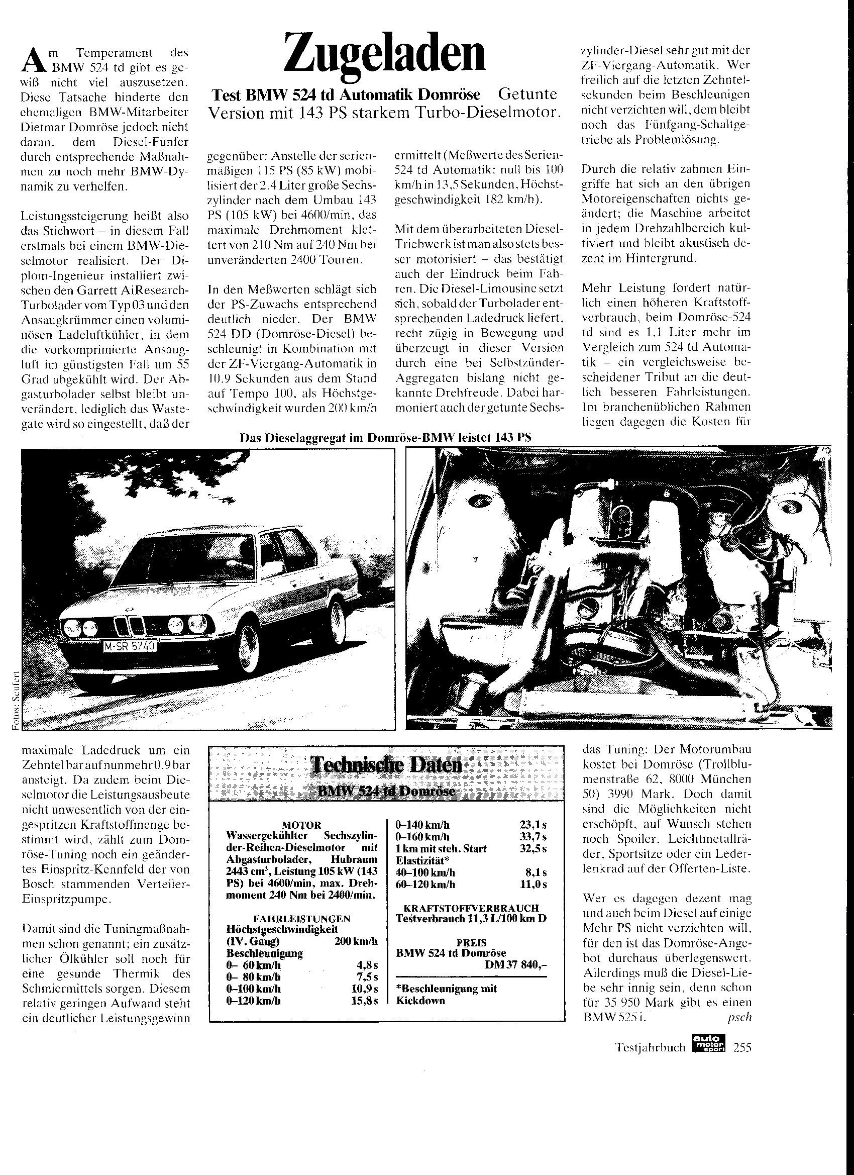 """Auto-Motor-und-Sport, """"Zugeladen"""""""